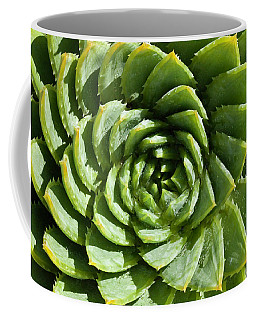 Coffee Mug featuring the photograph Aloe_polyphylla_8536.psd by Mark Shoolery