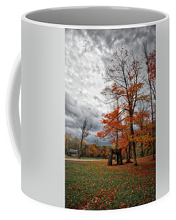 Coffee Mug featuring the photograph An Autumn Day At Chestnut Ridge Park by Guy Whiteley