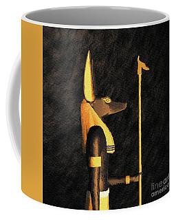 Anubis, God Of Egypt Coffee Mug