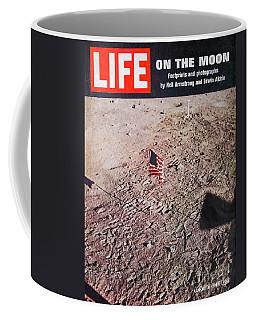 Apollo 11 Life Magazine Cover Coffee Mug