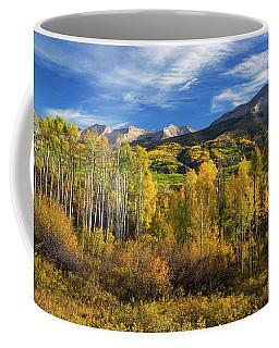 Aspens Of Kebler Pass Coffee Mug
