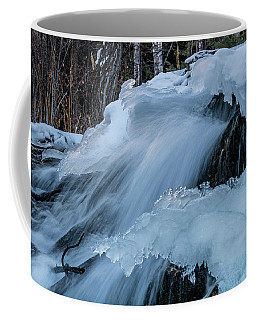 Big Hills Springs Under Snow And Ice, Big Hill Springs Provincia Coffee Mug