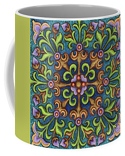 Botanical Mandala 8 Coffee Mug