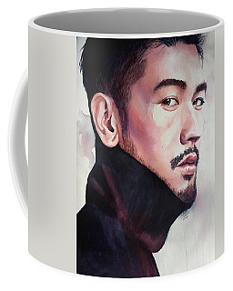 Coffee Mug featuring the painting Calm Confidence by Michal Madison