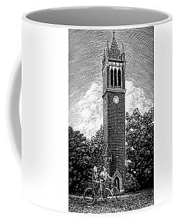 Coffee Mug featuring the drawing Campanile 1928 by Clint Hansen
