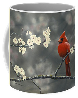 Cardinal And Blossoms Coffee Mug
