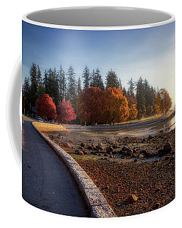 Colorful Autumn Foliage At Stanley Park Coffee Mug