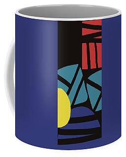 Coffee Mug featuring the digital art Colorful Bento 3- Art By Linda Woods by Linda Woods