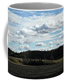 Country Autumn Curves 3 Coffee Mug