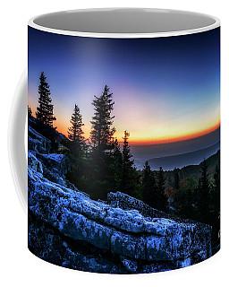 Dawn At Bear Rocks Preserve Coffee Mug