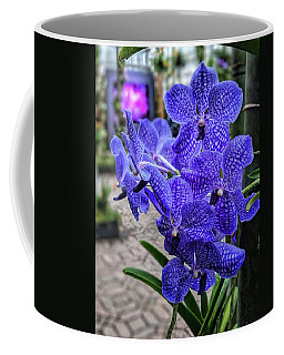 Deep Purple Orchid Coffee Mug