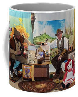 Doctor Jay And The Guardians Of Time Coffee Mug