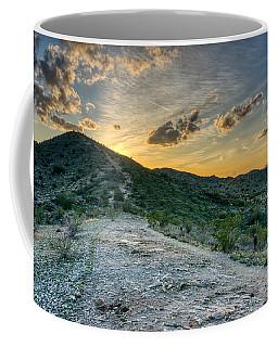Dramatic Mountain Sunset  Coffee Mug