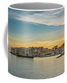 Dubrovnik Old Town At Sunset Coffee Mug