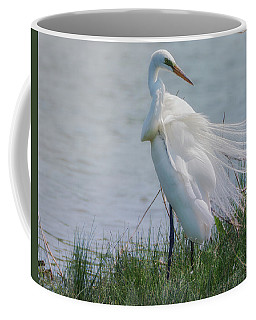 Egret 8 Coffee Mug