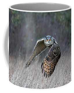Eurasian Eagle Owl Flying Coffee Mug