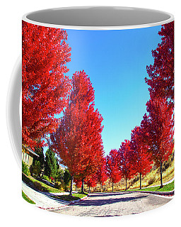 Coffee Mug featuring the photograph Fall In Boise by Dart and Suze Humeston