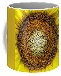 Ghost Sunflower Coffee Mug
