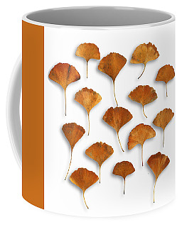 Coffee Mug featuring the photograph Gingkos Fall by Mark Shoolery