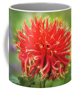 Glorious Sho-n-tell Dahlia Coffee Mug