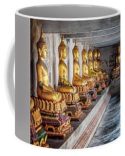 Golden Buddhas Coffee Mug