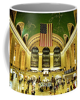 Coffee Mug featuring the photograph Grand Central Station by Scott Kemper