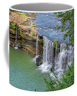 Great Falls In Rock Island State Park Coffee Mug
