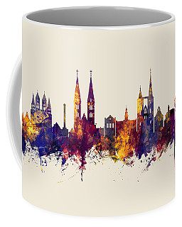 Halberstadt Germany Skyline Coffee Mug