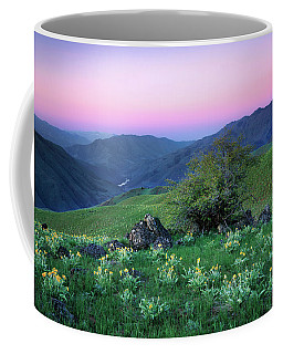 Hells Canyon Sunrise Coffee Mug
