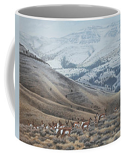 High Country Pronghorn Coffee Mug