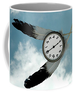 How Time Flies Coffee Mug
