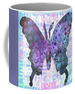 Inspire Butterfly Coffee Mug