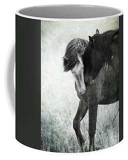Coffee Mug featuring the photograph Intimacy Before Battle by Mary Hone