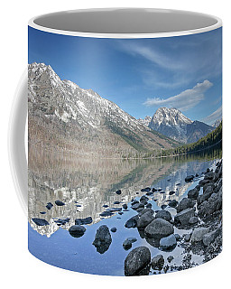 Coffee Mug featuring the photograph Jenny Lake by Ronnie and Frances Howard