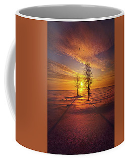 Coffee Mug featuring the photograph Just You And I by Phil Koch