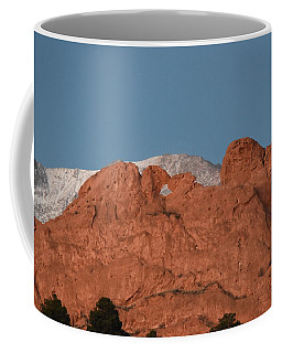 Coffee Mug featuring the photograph Kissing Camels by Margarethe Binkley