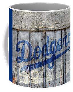 La Dodgers Rustic Coffee Mug