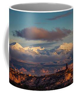 Coffee Mug featuring the photograph La Sal Mountains by Scott Kemper
