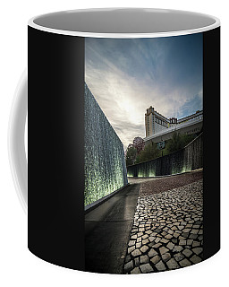 Coffee Mug featuring the photograph Las Vegas Nevada City Scenery On Sunny Day by Alex Grichenko