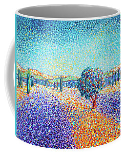 Lavender Field In Provence Coffee Mug