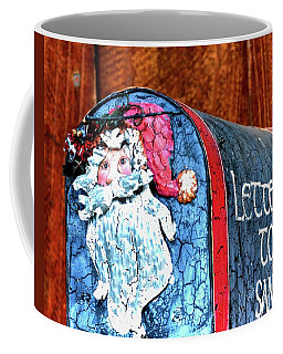Coffee Mug featuring the photograph Letters To Santa 20537 by Jerry Sodorff