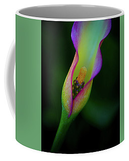 Coffee Mug featuring the photograph Lily  by John Rodrigues