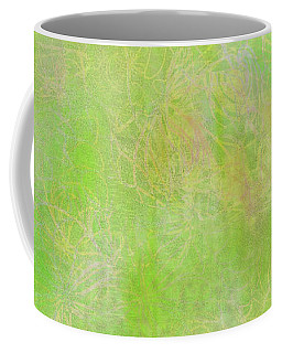 Lime Batik Print Coffee Mug