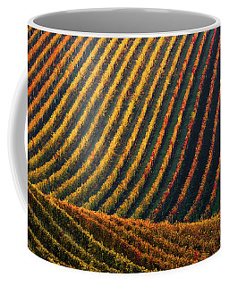 Line And Vine Coffee Mug
