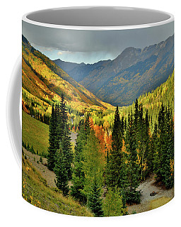 Looking North From Red Mountain Pass Coffee Mug