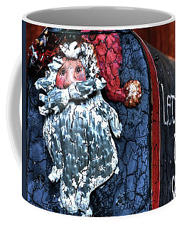 Coffee Mug featuring the photograph Mail To Santa 20534 by Jerry Sodorff