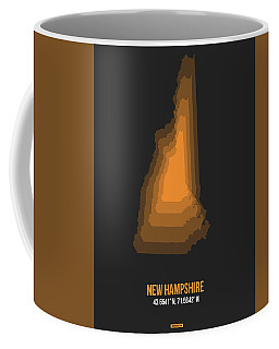 Map Of New Hampshire  Coffee Mug