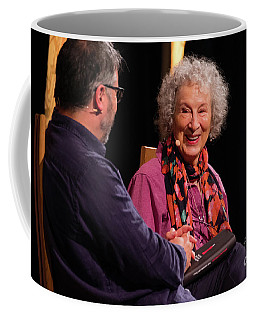 Margaret Atwood At The Hay Festival 2018 Coffee Mug