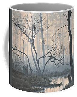 Misty Hideaway - Wood Duck Coffee Mug