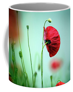 Morning Poppy Flower Coffee Mug